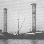 Die 'Buckau' bei ihrer Probefahrt am 27. Oktober 1924
