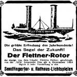 Wie populär die 'Buckau' in diesen Tagen wurde lässt sich durch die Anzeige einer Berliner Tageszeitung erahnen