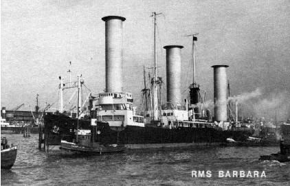 Das Rotorschiff 'RMS Barbara'